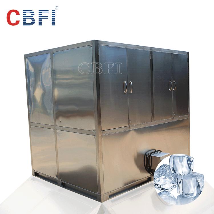 CBFI big daily capacity 10 tons ice cube making machine ice cube maker