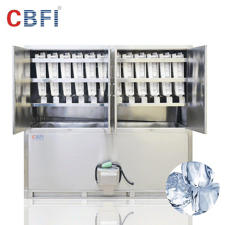 Automatic Ice Outgoing Cube Ice Machine with Sanitary and Crystal Ice