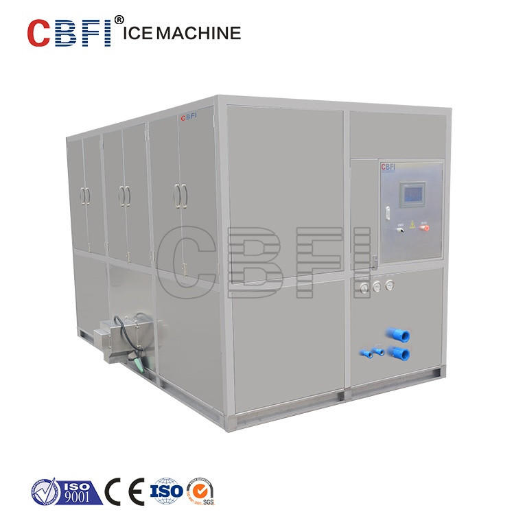 Easy Operation 3 tons Cube Ice Making Machine Price