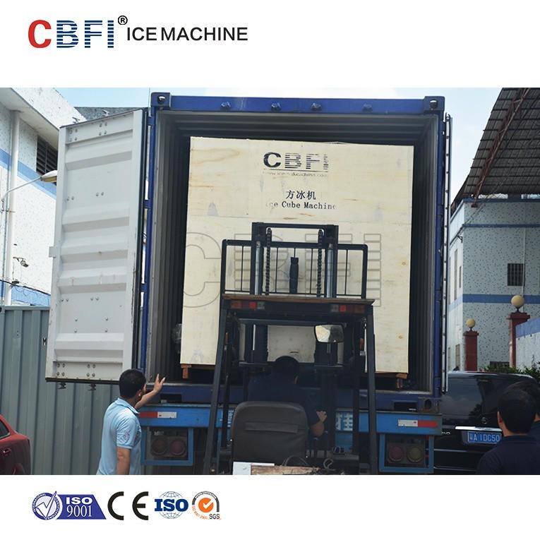 Large production ice cube making machine CV10000 for big ice plant