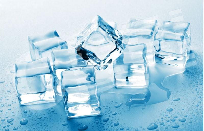 industrial ice cube machine for producing edible crystal ices