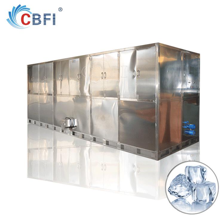 CBFI Large Enterprises Producing New Style Edible Ice Cube Plant