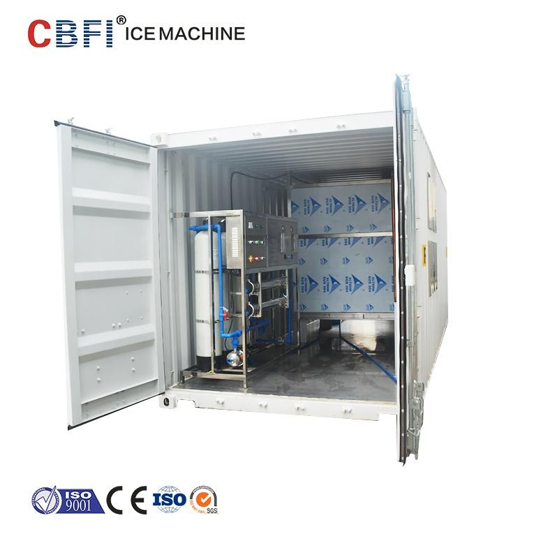 Guangzhou commercial ice cube maker manufacturers for ice plant factory