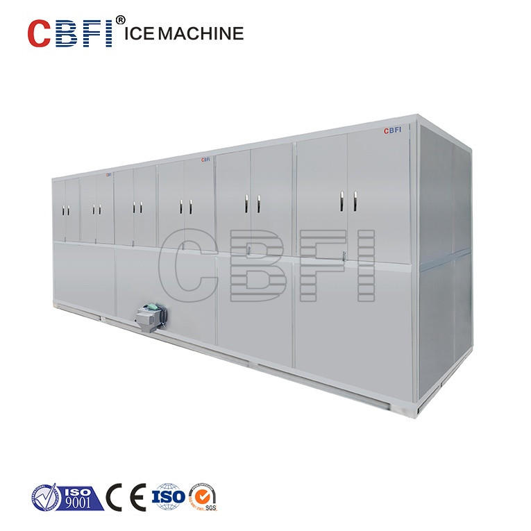 Lebanon ice cube making machine with 3000kg cube ice for cooling