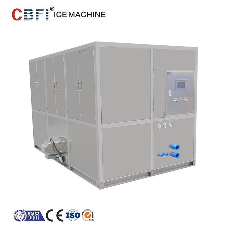 Crystal 5 Ton Cube Ice Machine with Plastic Ice Bag Packing