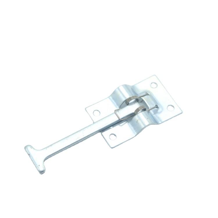 Trailer Truck Rear Door Retainer Hook Spring Loaded Stopper Hook For Door Retainer Steel