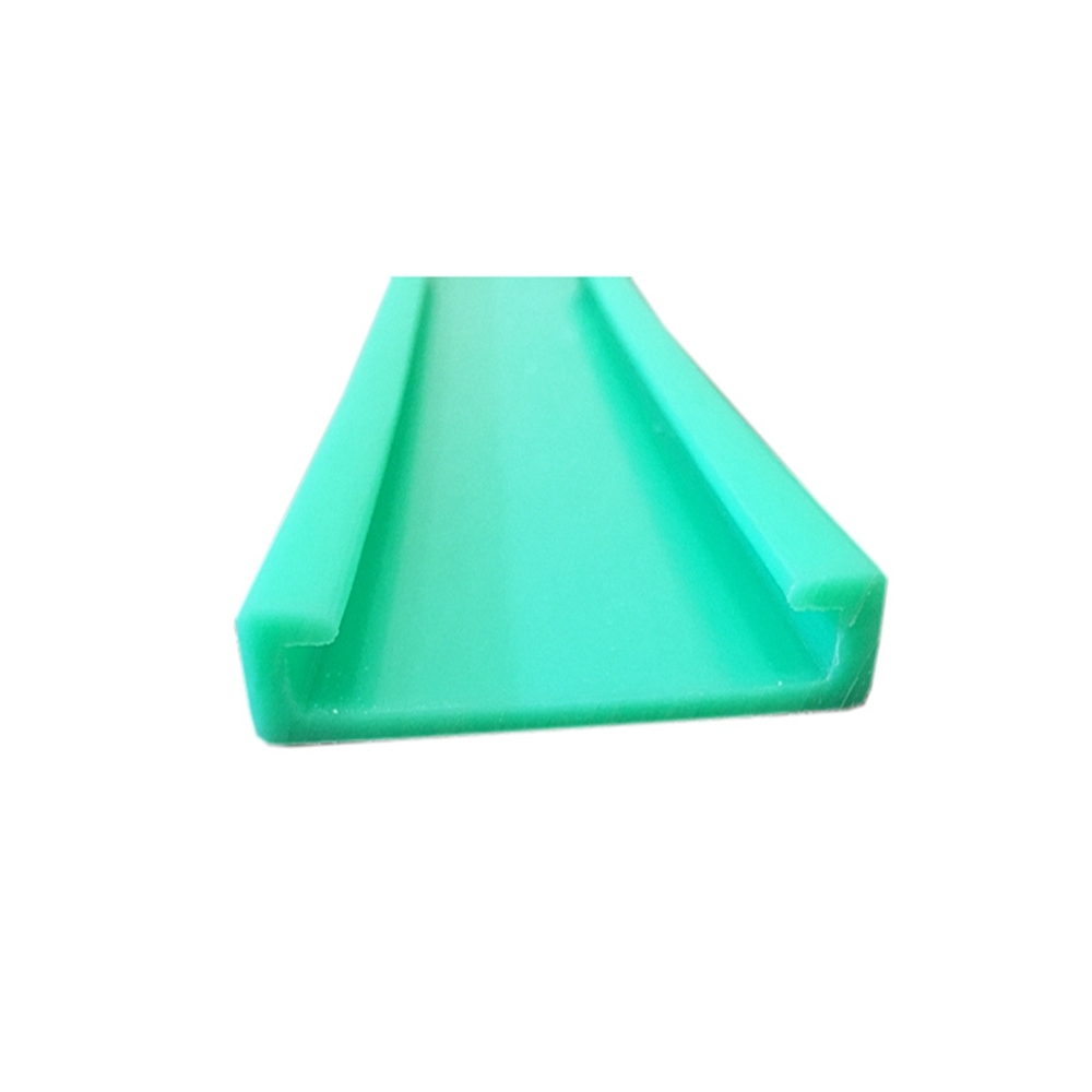 Customized UHMWPE extruded profiles & wear strips UHMWPE Extrusion wear rib