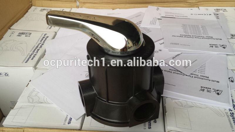 Manual Top mount multi port ceramic disc valve