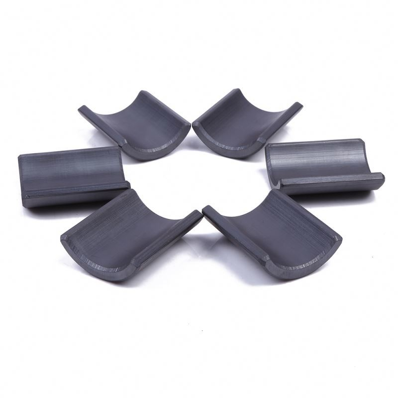 Y30 Arc hard ferrite magnetfor water pump/refrigerator/air condtion/ washing machine/cooler