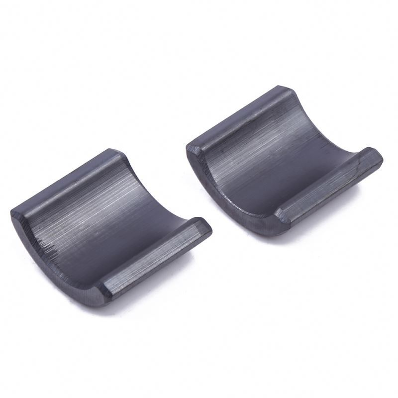China factory sale eco-friendly aactory custom shape ferrite arc magnets