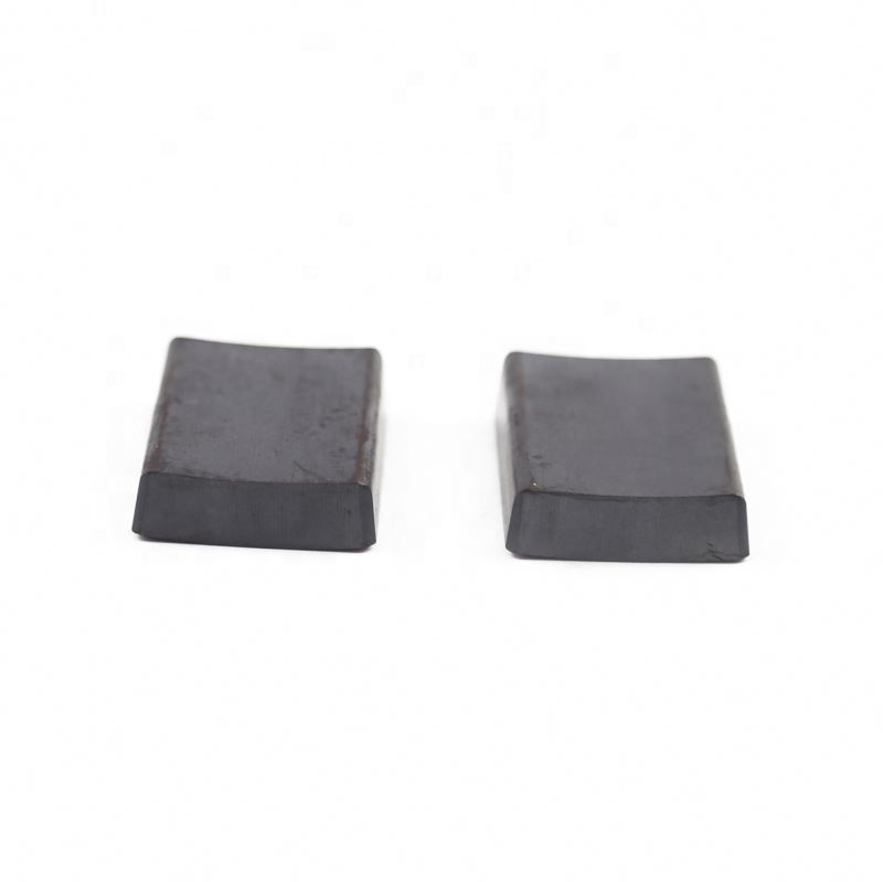 Good quality custom size powerful arc shaped ferrite magnet ferrite segment magnet