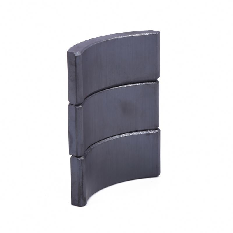 Hot product custom size Speaker magnet dc motor ferrite arc magnet ferrite magnet segment arc y30