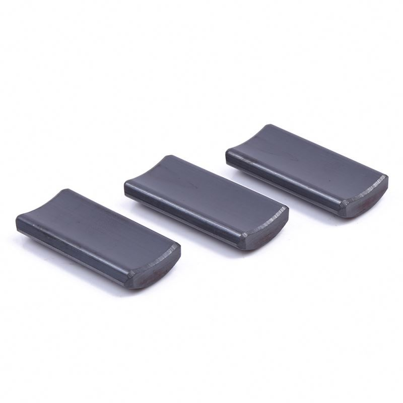Popular hot selling small order multi-poles ferrite magnet suitable for various motors