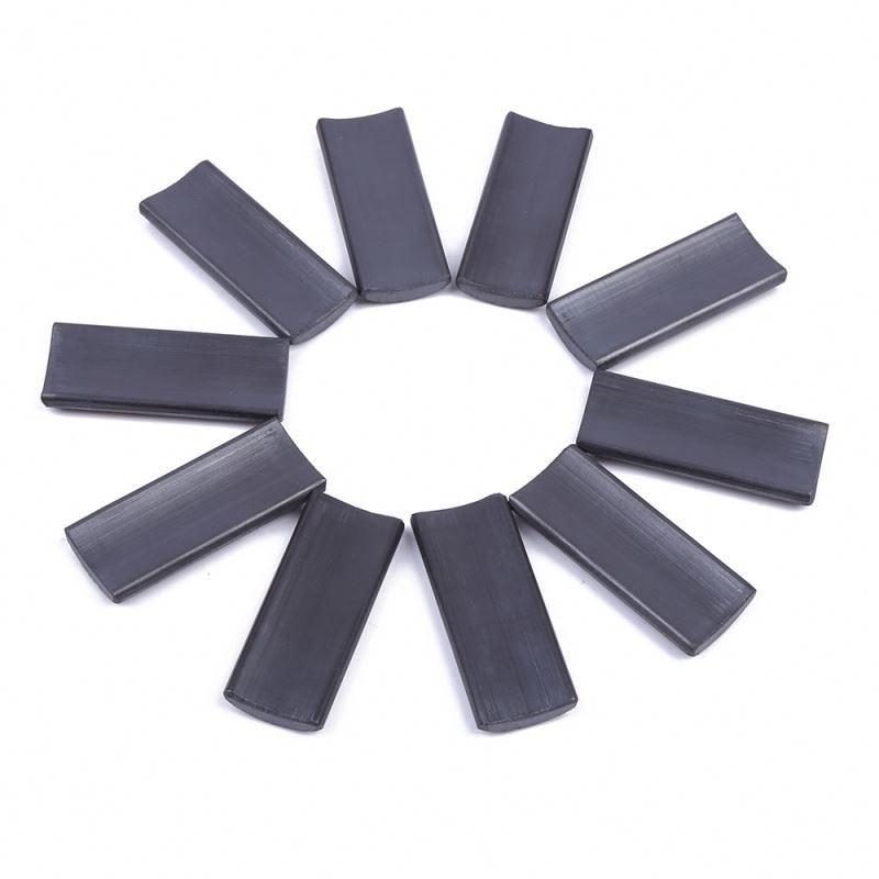 China wholesale Eco-friendly Factory Segment turbine arc ferrite magnet generator permanent magnet