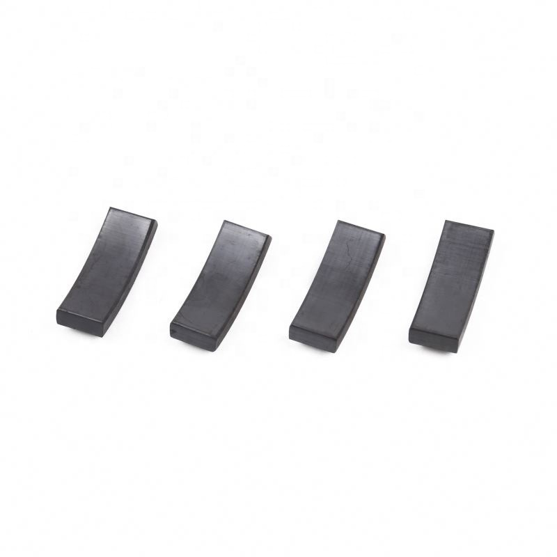 Cheap price permanent sintered ferrite magnet tile custom c shape ferrite magnet