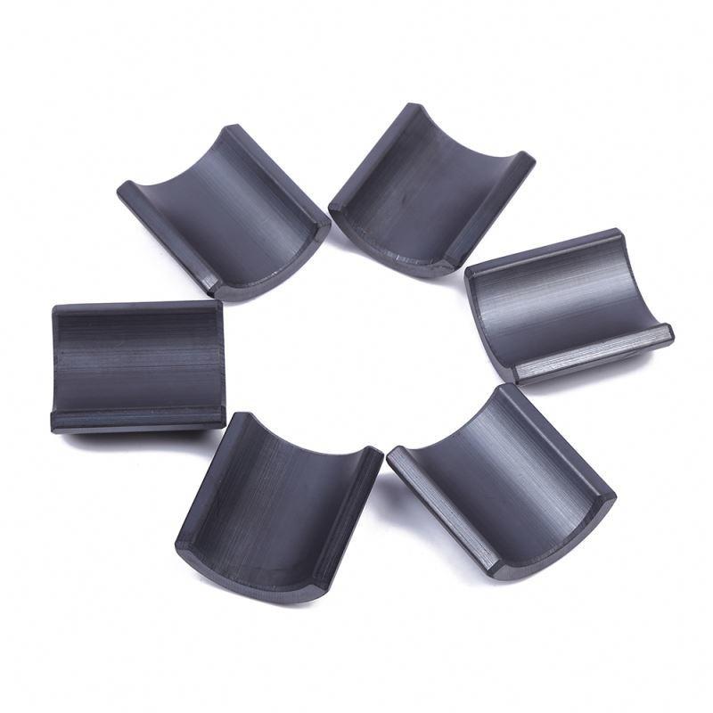Strong Permanent Arc Ferrite magnet for servo motor and sensor