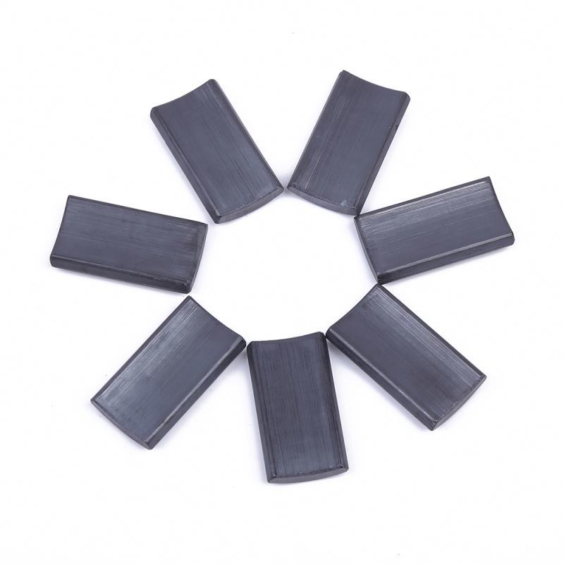 China manufacturing cheap powerful speaker large size ferrite magnet