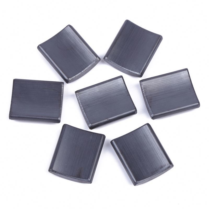 Super Strong ceramic segment ferrite magnet for motors permanent ferrite magnet