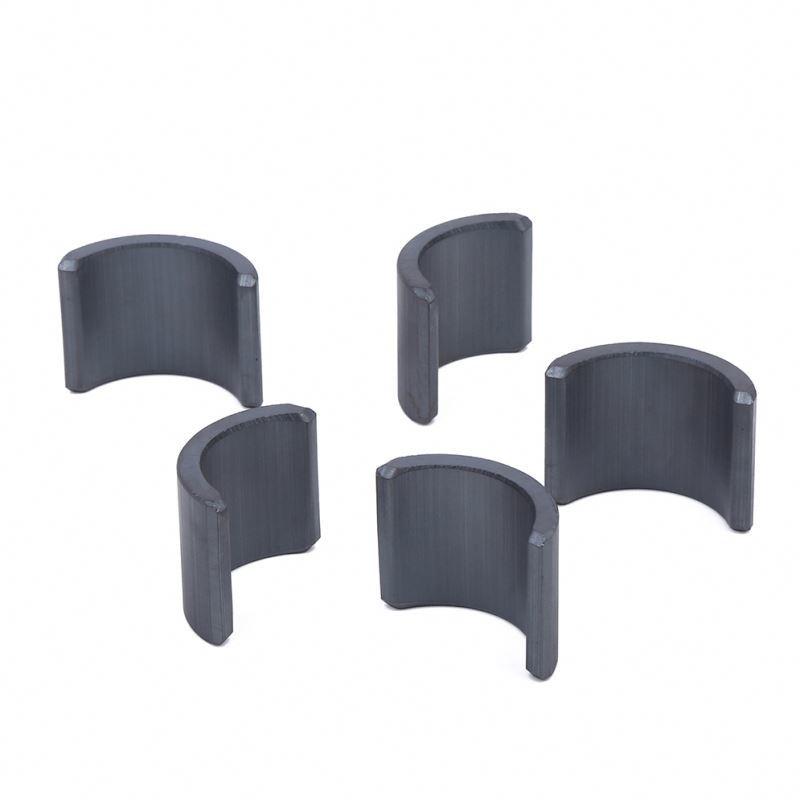 Professional made Y35 segment ferrite magnet for motor for refrigerator