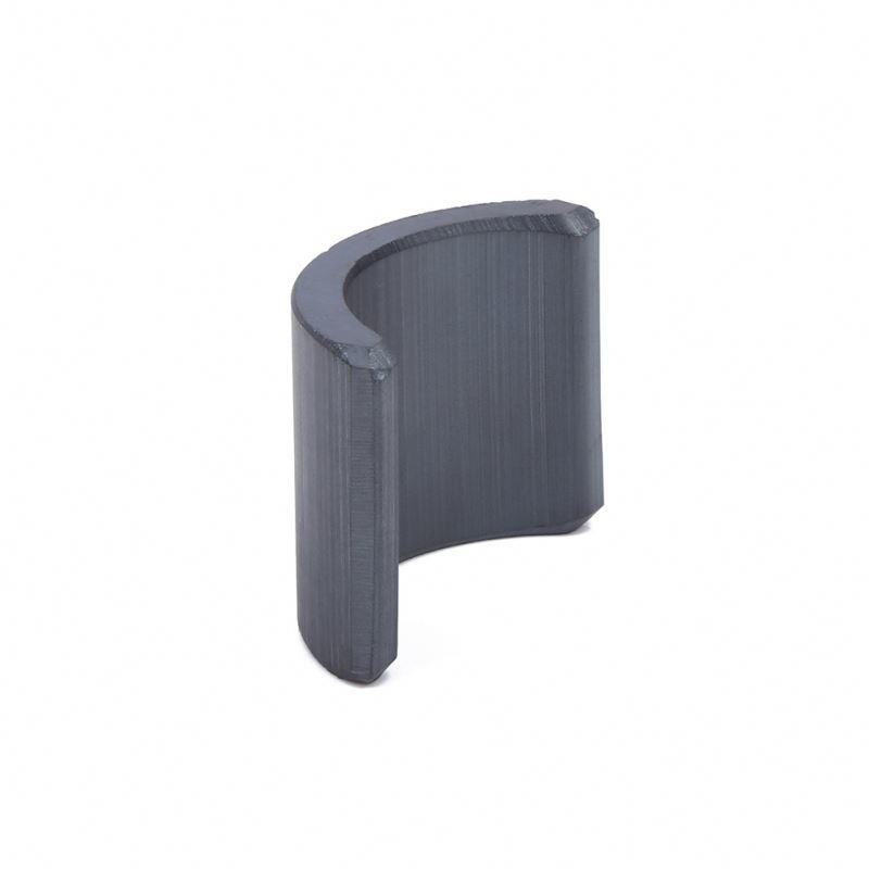 OEM&ODM Y32 full grade ferrite generator permanent magnet arc ceramic curve magnet for motor for electric motor