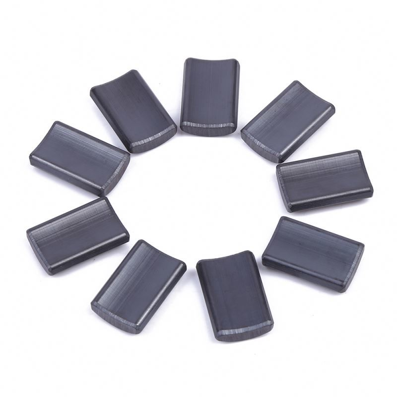China factory sale super quality customization Y35 Y38 magnet arc ferrite magnet for motor