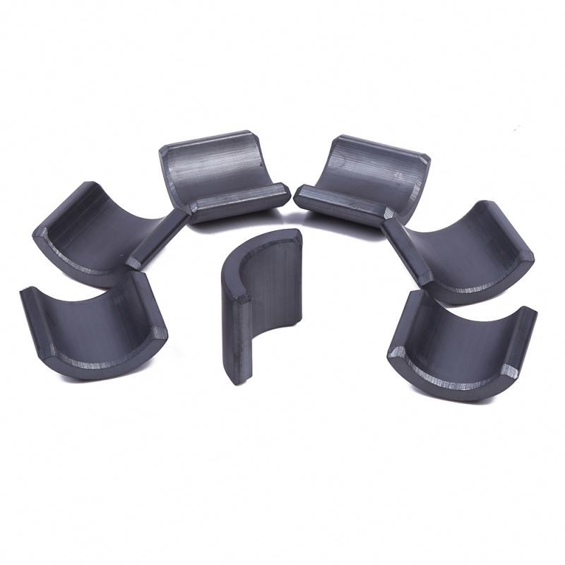 35years ChinaOEM supplier of strong ferrite magnetarc segment magnet