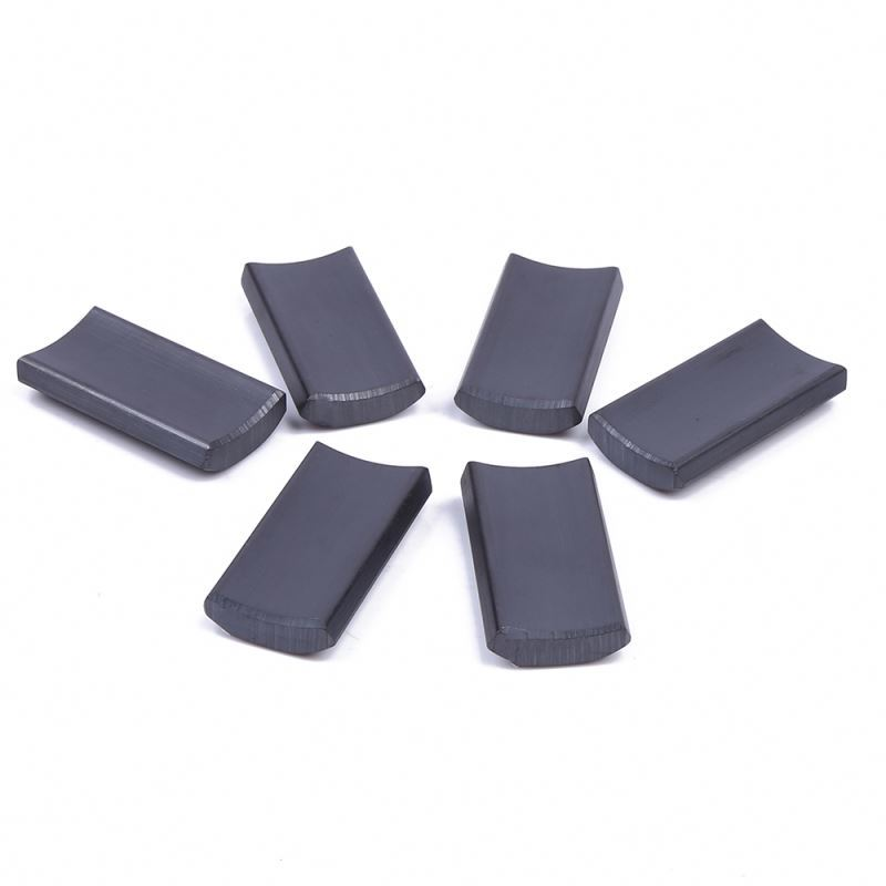 Custom made Y35 hard ferrite magnet tiles ferrite magnet manufacturer china