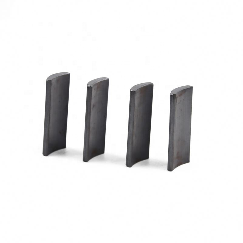 Experienced factory industrial magnet application full size custom shape arc ferrite magnet