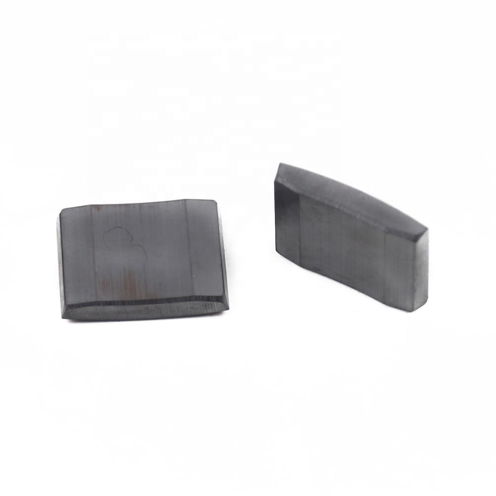 New selling china magnetic factory provides arc ferrite magnetic tile shape magnet