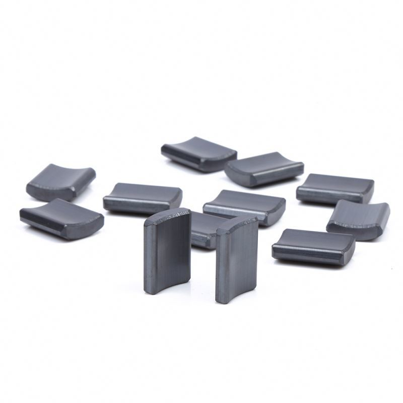 Different types Y33 ferrite arc magnet for Washing machine