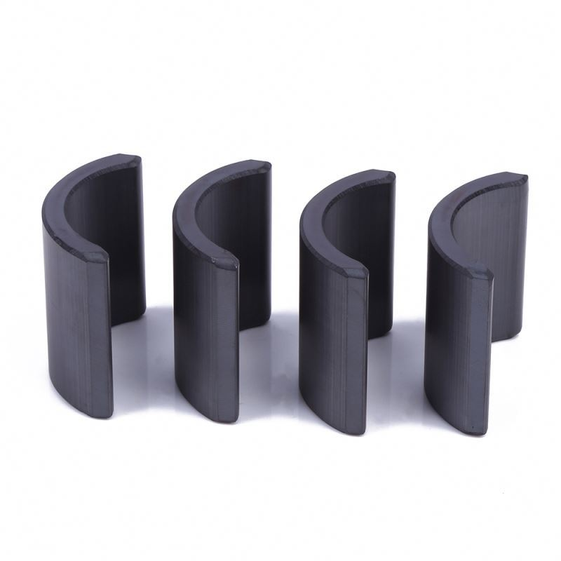 High grade powerful hard ferrite magnet tiles ferrite permanent magnets