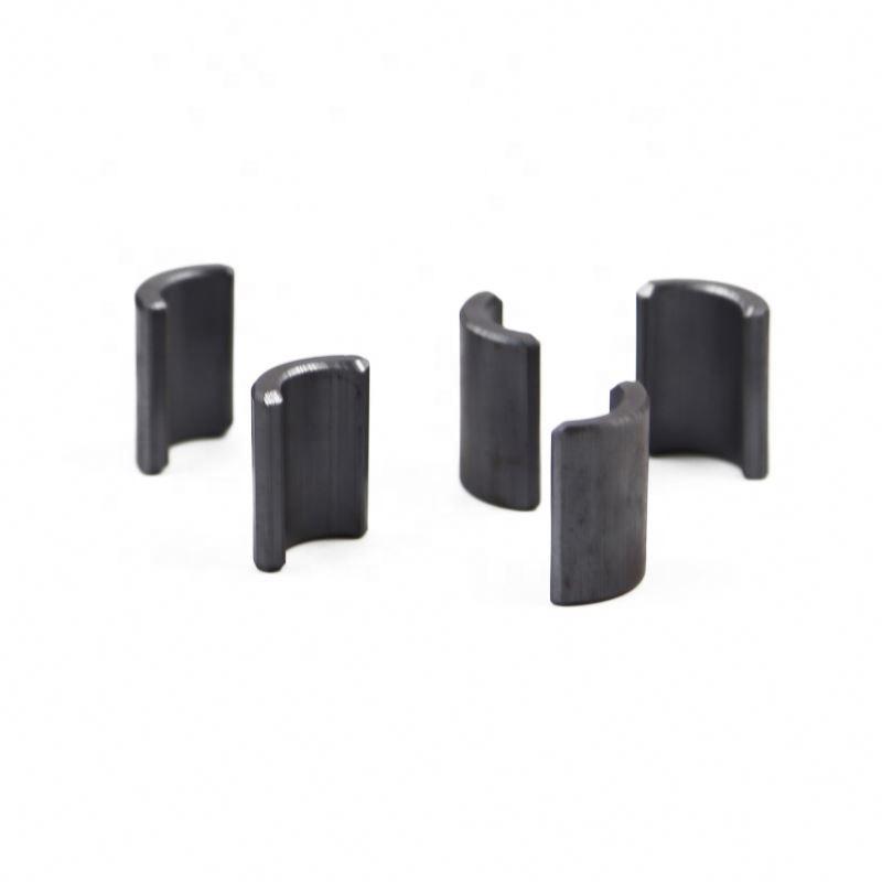Precision high-quality Customizable tile ferrite magnet permanent magnet starter motors
