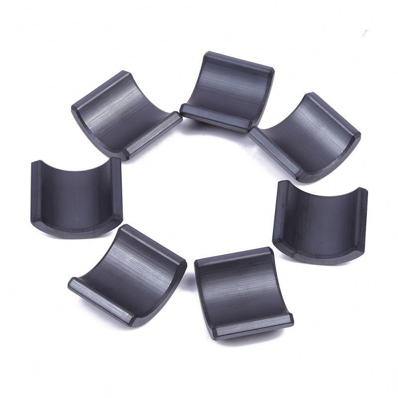 Wholesale strong magnet ferrite arc magnet motor ferrite magnet segment y30