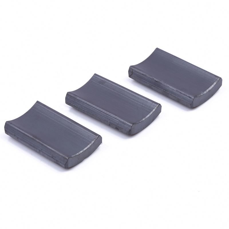 New products OEM quality custom shape super strong magnets ferrite for motor