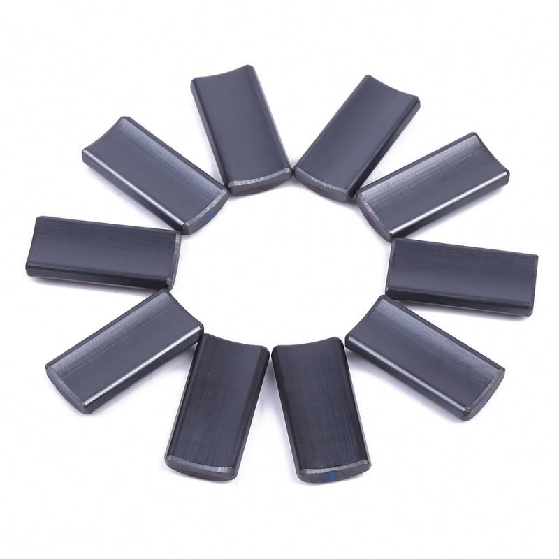 Manufacturer made promotional anti-interference arc shaped speaker magnet