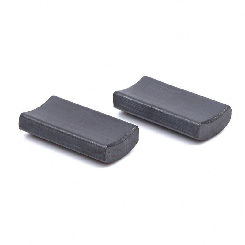 Factory supply Y38 arc ferrite magnet for motor for Automobile door window motor
