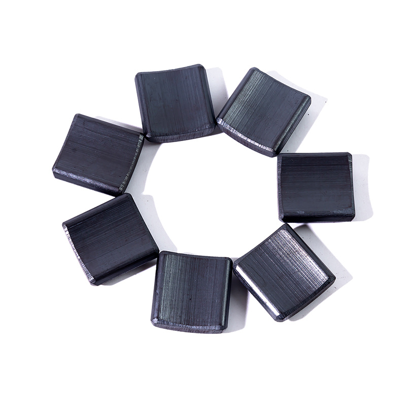 Hot selling customized size multi purpose industry use arc shape ferrite magnet block