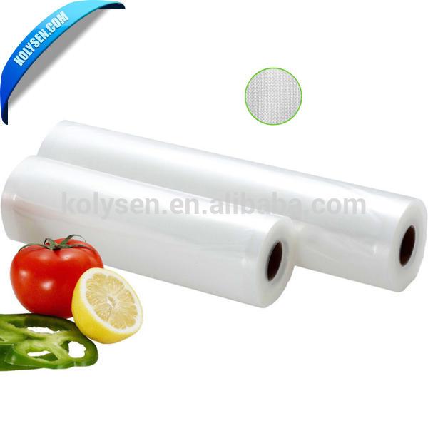 Embossing Vacuum food sealer bag for food vacuum packing