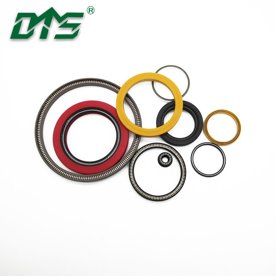 Hydraulic Pneumatic PTFE Carbon Fiber Material Spring Energized Seal