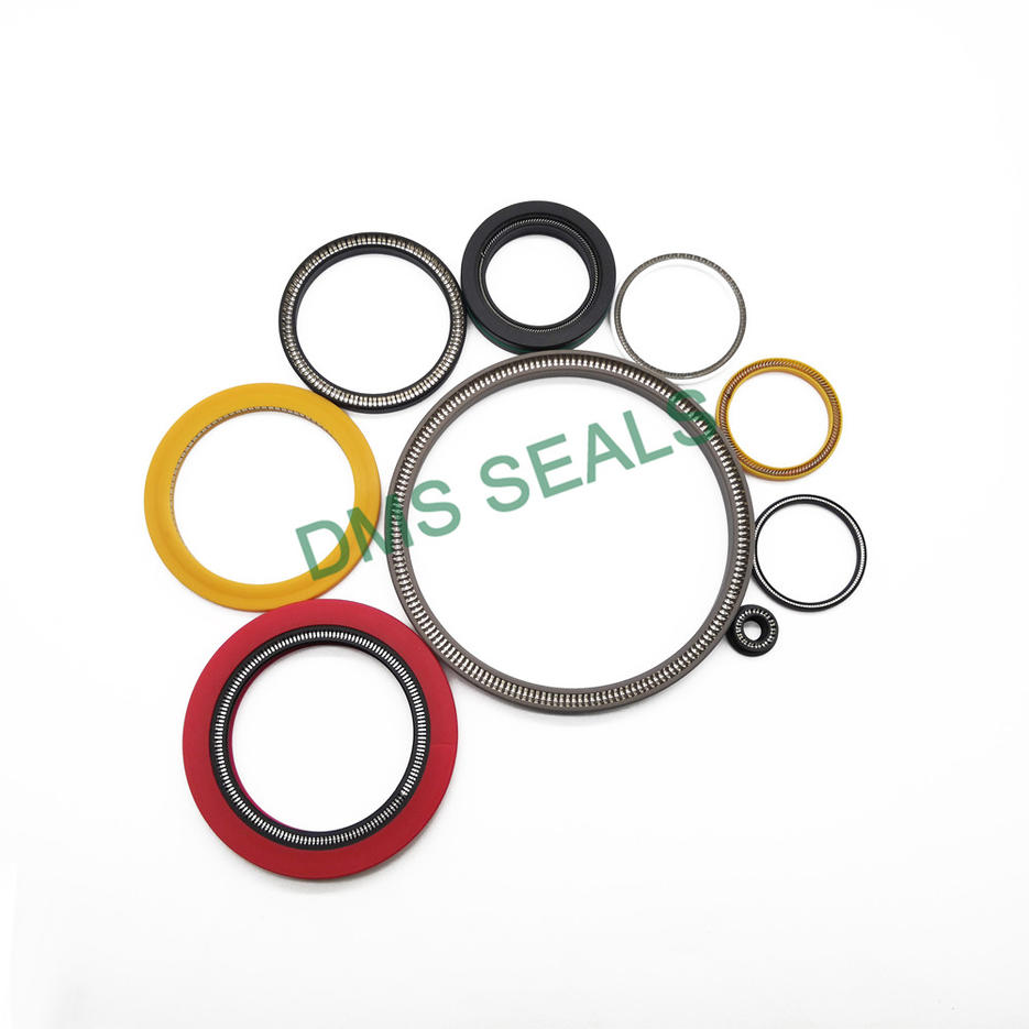 High Pressure PTFE/UPE/PEEK Rotary Seal SpringEnergized Seal