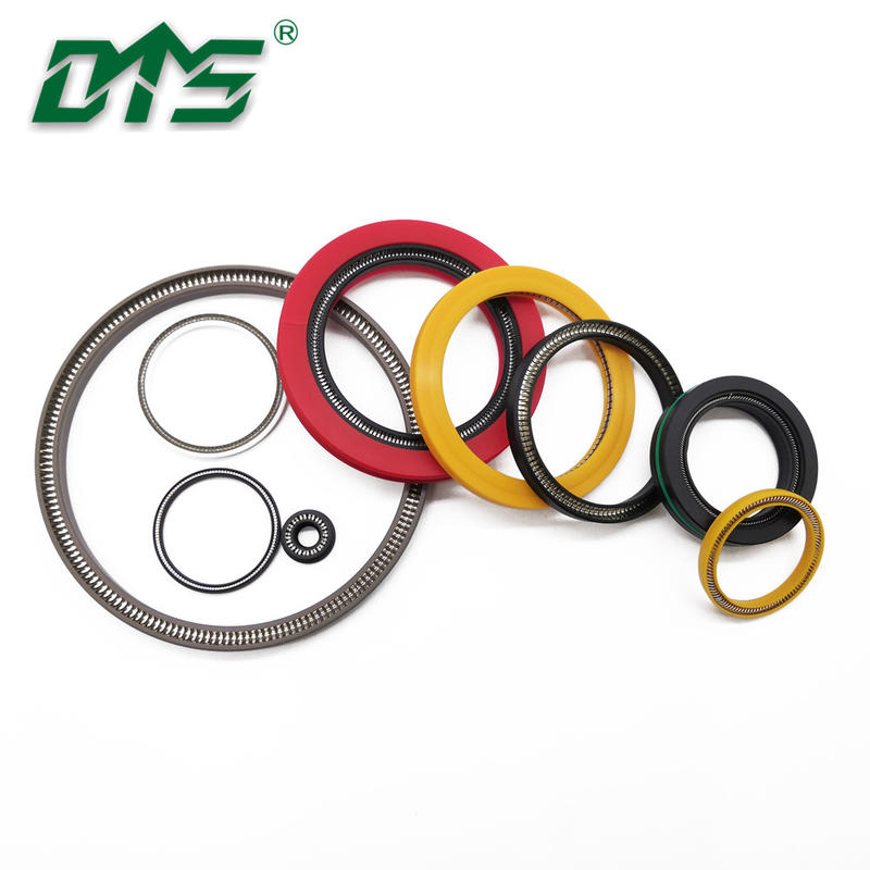 PEEK/PTFE spring loaded energized seal for high pressure application
