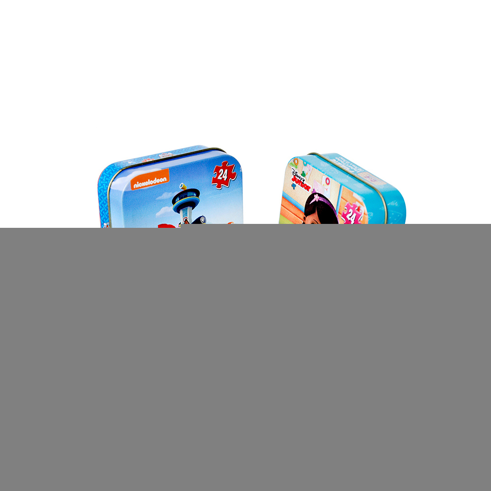 Wholesale cute secret tin box for puzzle card game box