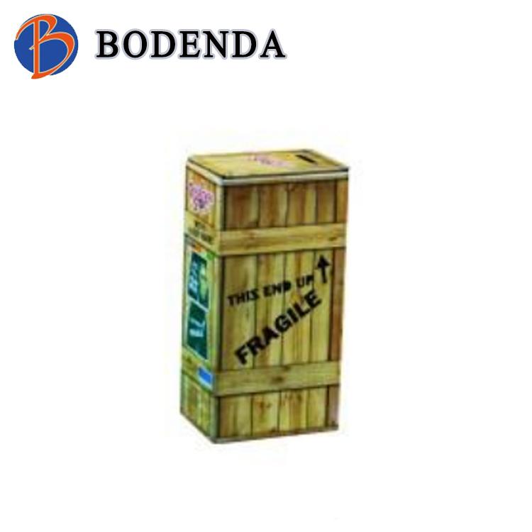 2018 hot sale new custom design metal money box/coin bank