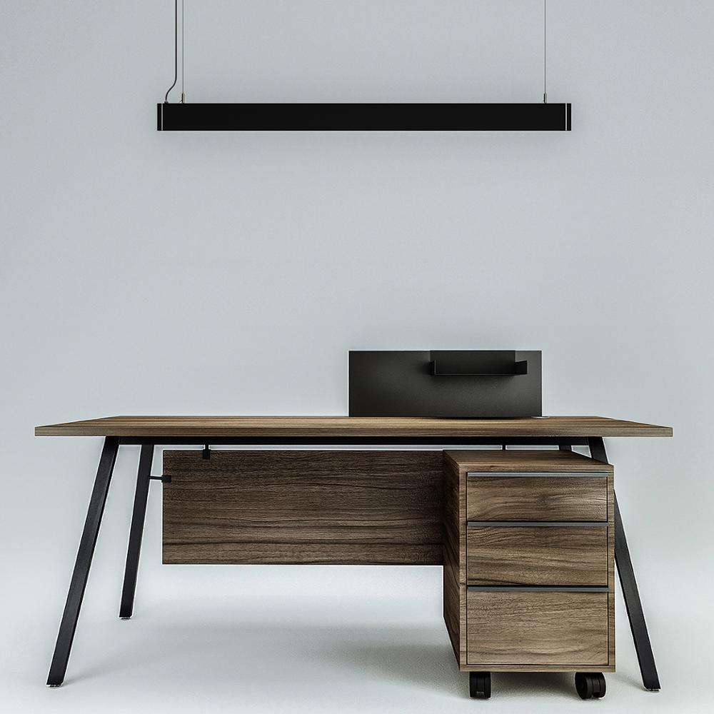 Inlity led linear pendant light 36W 5000K led linear light pendant fixture for the office