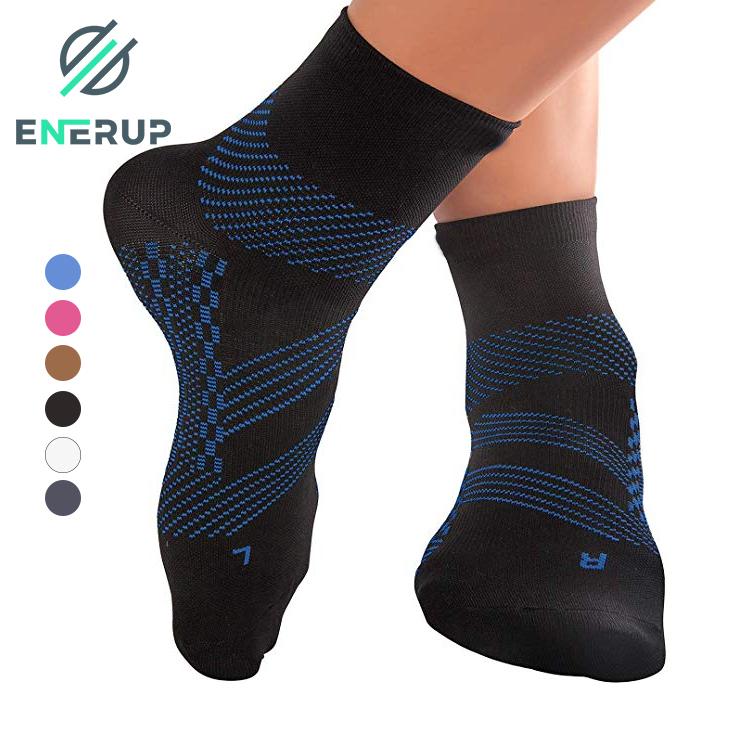 Enerup Calcetines Chinos Al Mayoreo Running Sport Women Men White Meias Esportivas NinO Deportes Short Compression Socks