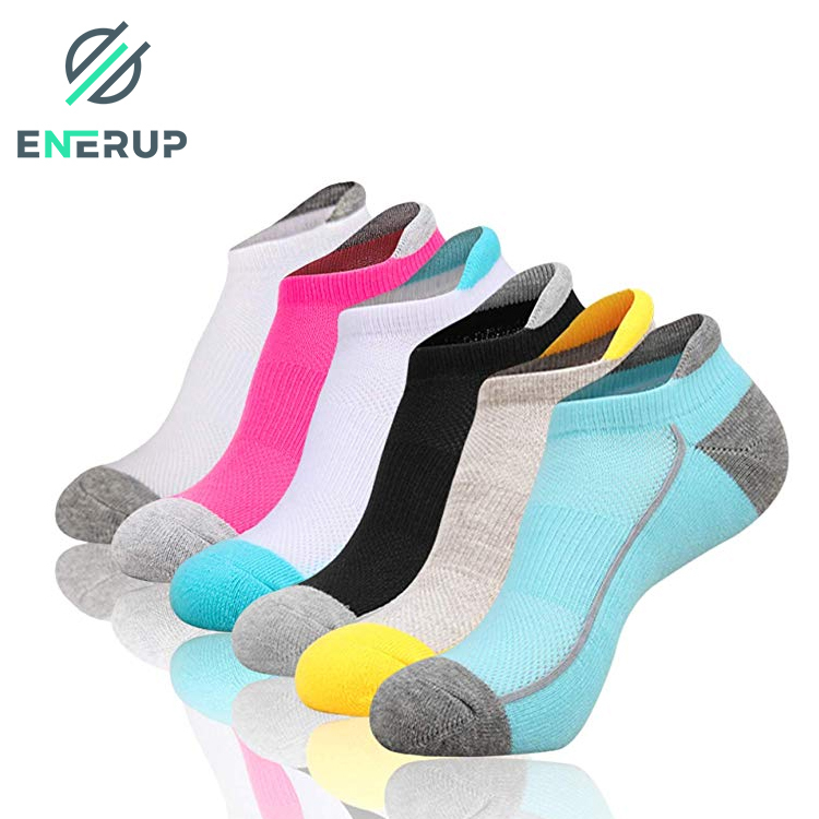 Enerup Sport Men Toddler Fashion White Pink Gots Certified Personalized Ankle Socks Top Quality Christmas