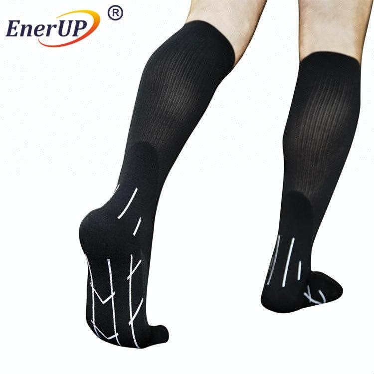 China Custom wool thigh high wholesale 3d design sports logo soccer socks