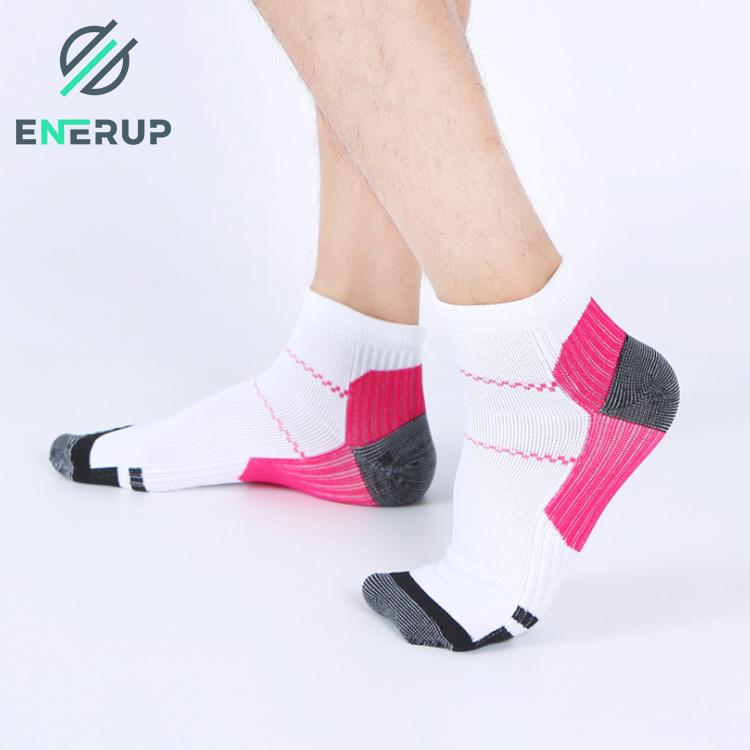 Enerup Silicone Gel Stockings Medical Men'S & Women'S Custom Logo Basketball Gym Elite Compression Foot Sleeve Heel Socks