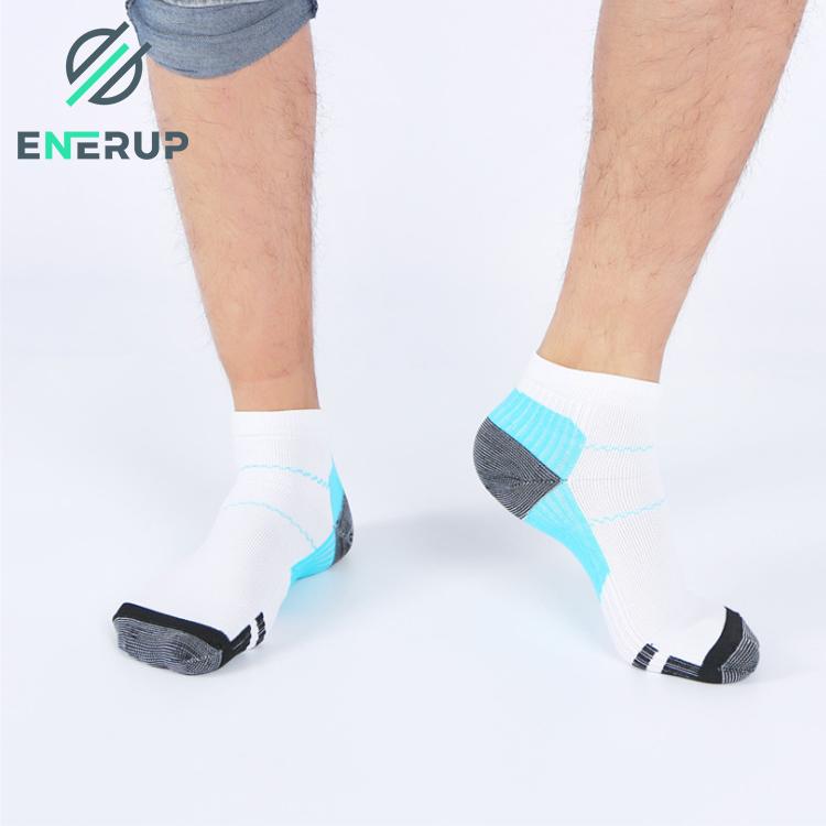 Enerup Orthopedic Unisex FunAir Foot Copper Compression Yoga Fit Medical Women Knee High Socks Medical Zip