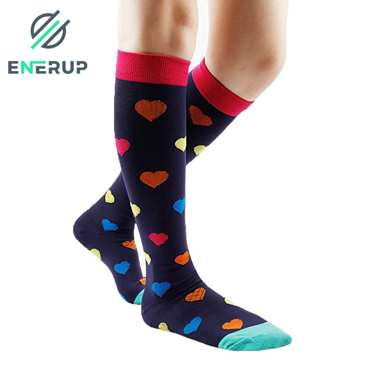 Enerup Ski Lightweight Charmking Foot Arch Support Compression Sports Long Tube Socks Faislabad Own Brow For Women & Men